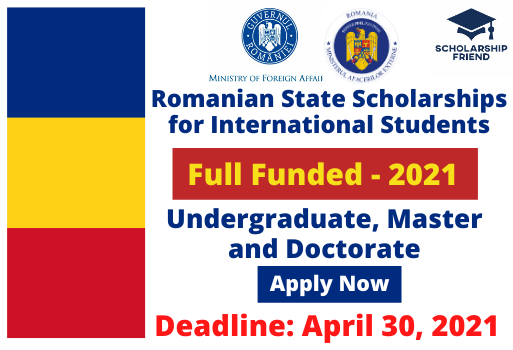Romanian State Scholarships for International Students _ In Romania _ Full Funded - Scholarship Friend - Undergraduate and Masters