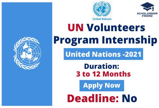 UN Volunteers Program Internship - United Nations - 2021 - Scholarship Friend - International Internships - 1