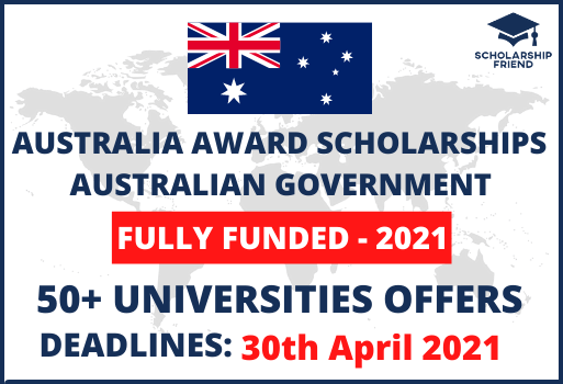 Australia Award Scholarships 2021-Fully Funded-Australian Government-Scholarship Friend (1)