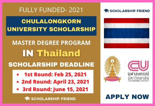 Chulalongkorn-University-Scholarship-2021-in-Thailand