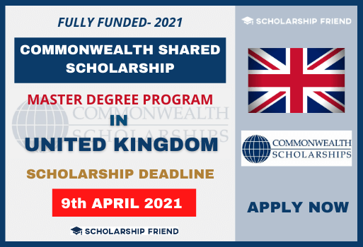 Commonwealth Shared Scholarships in the United Kingdom-Scholarship-Friend