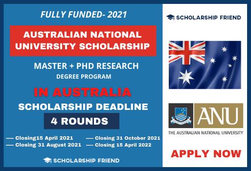Australian National University Scholarship-scholarshipfriend-2021-2022 1
