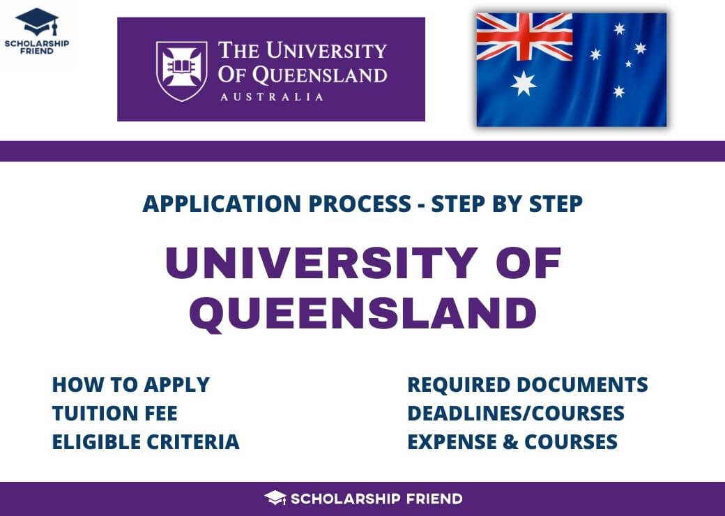 University Of Queensland – How to Apply, Fees, Courses, Criteria – 2021-2022