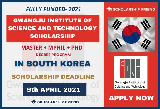 GIST Scholarship 2021 Scholarship Friend