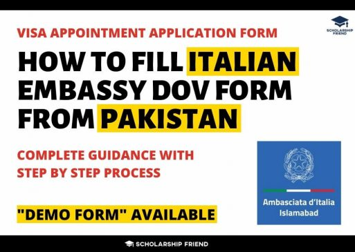 how-to-fill-visa-appointment-form-for-italian-embassy-from-pakistan-2021