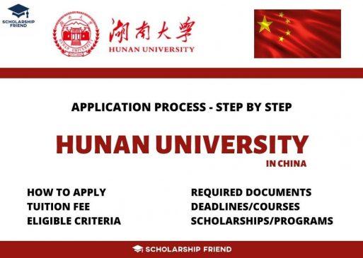 hunan-university-application-process-2021
