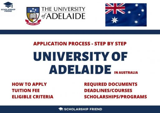 university-of-adelaide-admission-application-process-2021